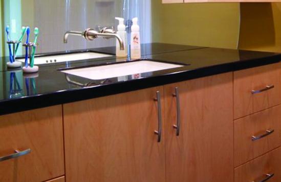 Custom designed  kitchen countertops in Central NY