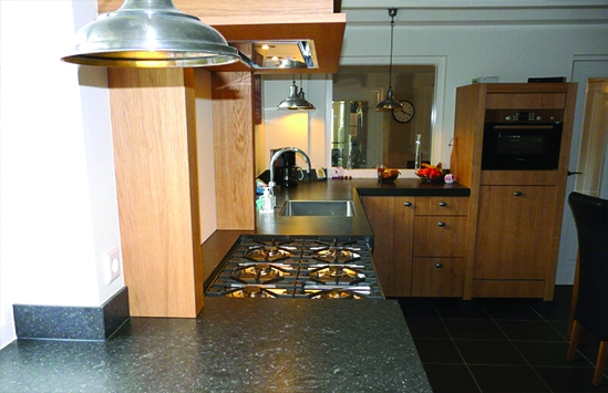 Custom designed  kitchen countertops in Central New York