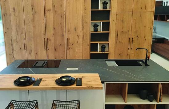 Custom designed kitchen countertops in Syracuse