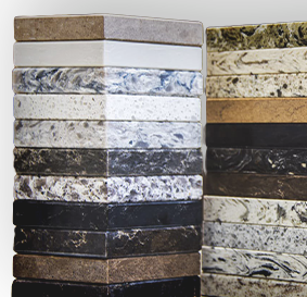 High quality countertop materials