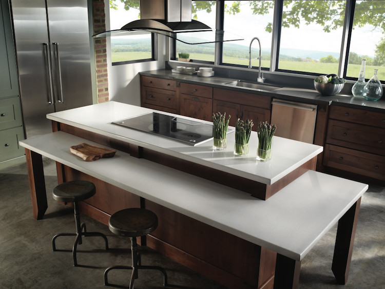 Custom made kitchen countertops in Syracuse