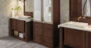 Custom designed Bathroom Countertops in Syracuse, Ithaca and Watertown