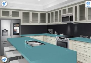 Countertops designed and built in Syracuse serving Central, New York including Cortland, Ithaca, Binghamton, Watertown and Skaneateles