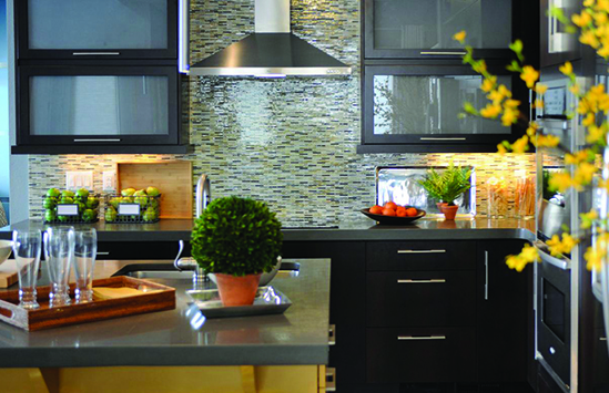 Countertops designed and built in Syracuse serving Central, New York including Cortland, Ithaca, Binghamton, Watertown, Watkins Glen and Skaneateles