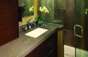 Countertops for your bathroom designed and built in Syracuse serving Central, New York including Cortland, Ithaca, Binghamton, Watertown and Skaneateles