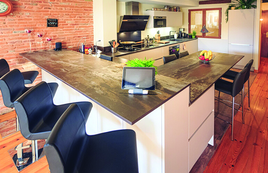 Custom Home Countertops designed and built in Syracuse serving Central, New York including Cortland, Ithaca, Binghamton, Watertown and Skaneateles