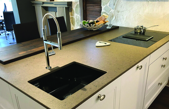 Residential Kithcen and Bath Countertops designed and built in Syracuse serving Central, New York including Cortland, Ithaca, Binghamton, Watertown and Skaneateles