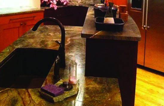 Custom Countertops and Vanities for your home designed and built in Syracuse serving Central, New York including Cortland, Ithaca, Binghamton, Watertown, Auburn and Skaneateles