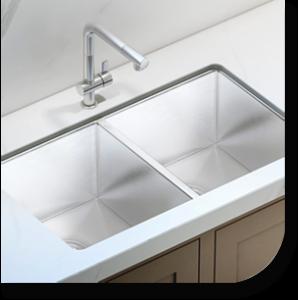Fuentera Custom made kitchen sinks in Syracuse New York