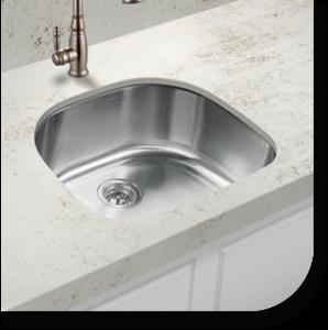 Custom made single bay kitchen sinks in Syracuse New York