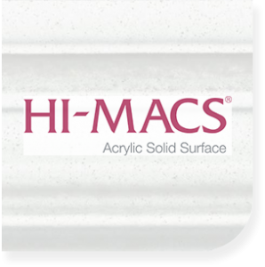 Custom made HI Macs kitchen countertops in Syracuse New York