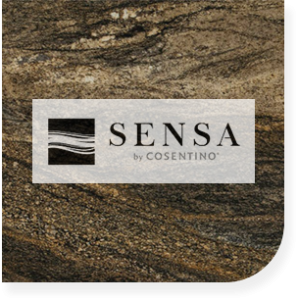 Custom made Sensa kitchen countertops in Syracuse New York