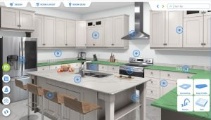 Visualizer for Custom made kitchen countertops in Syracuse New York